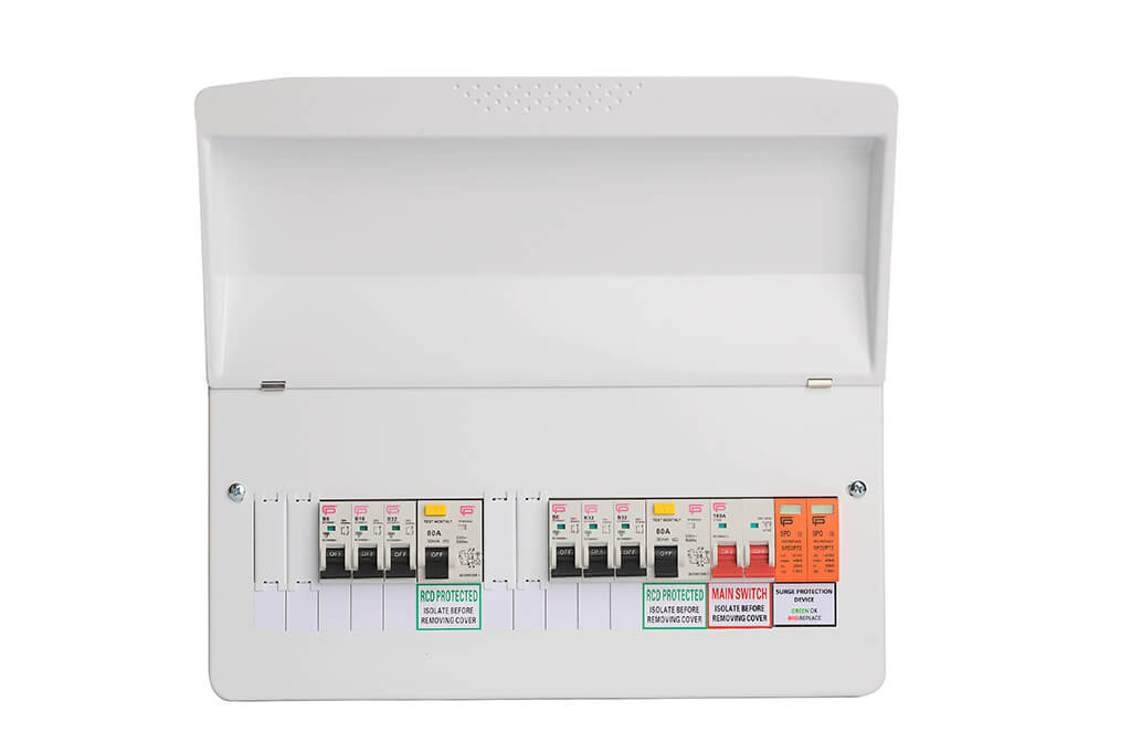 Terrific 10 Way Dual Rcd Populated Spd T2 Fusebox Fusebox Wiring Database Gramgelartorg